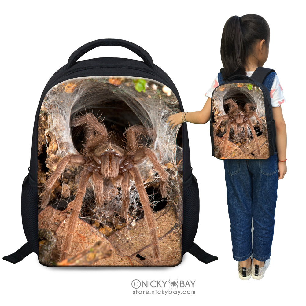 Children School Bag Kids Mini Backpack Assorted Invertebrates