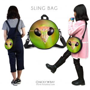 Round Mini School Backpack for Kids – Assorted Invertebrates