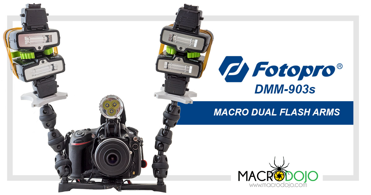FotoPro DMM-903s Macro Dual Flash Arms